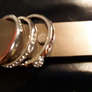 Bride & Groom 3 Ring Set